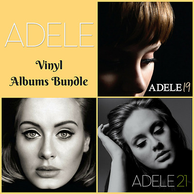 Adele - Complete Albums Bundle - 19 / 21 / 25 - Vinyl LP *NEW & SEALED*