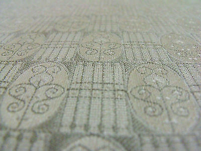 Secessionist Art Nouveau Vienna Workshops Archive Fabric Color Oyster