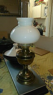 Vintage Brass Oil Lamp