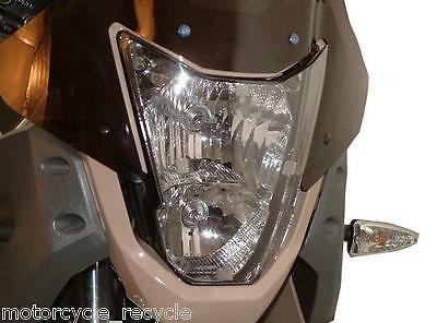 New Powerbronze Headlight Protector Clear Fits Yamaha Xt660 Xt 660 Tenere 08-12