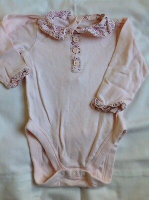 Baby Girls Top 3-6 months Mothercare top bidysuit clothes
