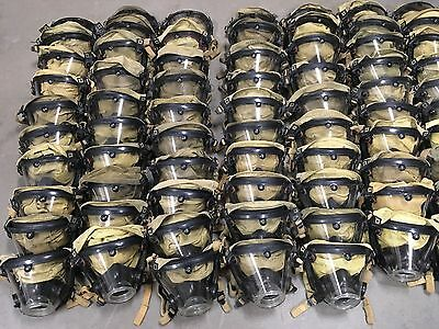 Scott AV2000 SCBA Mask Facepiece Sz Large Preowned Use Condition P/N 804019-2