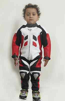 Motorcycle Motorbike Cycling Kid Kids Children Leather Suit, Xmass Christmass