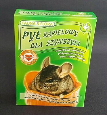 Sand Bath Chinchilla 1KG Dust Degu Hamster Rat Ferret Rodents Toilet Health