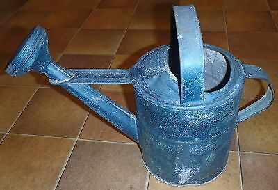 Vintage Primitive Watering Can Antique Garden Sprinkler