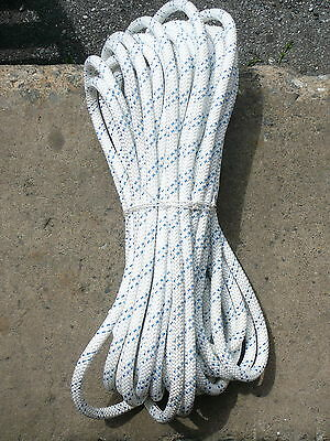 """New England Static Line Low Stretch Rope Climbing, Rappel, Tag Line 1/2"""" x 79'"""