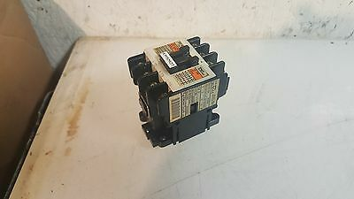 Fuji Electric Contactor SC-4-0 (18), 20A,100 /110 V Coil, Used,Warranty