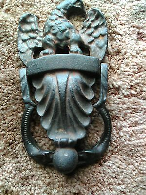 Vintage Wilton Cast Iron American Eagle Door Knocker