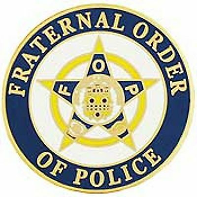 Fraternal Order Of Police Lapel Pin 1""