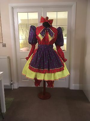 Pantomime Dame Costume ( Including Hopped Underskirt & Bloomers)