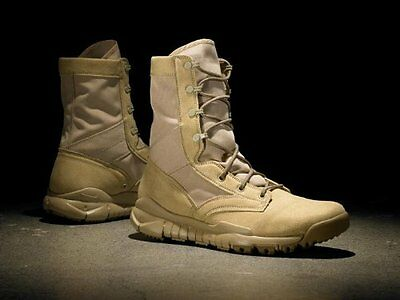 NIKE SFB Military Army Boots Stiefel Stivali Coyote Brown US8.5 EU42 UK7.5 NUOVO