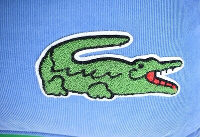 """""""Fab Pair of Lacoste 'Alligator' Embroidered Pinwale Corduroy Oversize Pillows"""""""