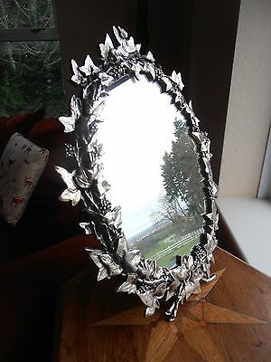 Ivy Leaves Motif Victorian Mirror.Special offer on 'Seconds'