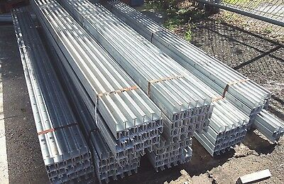 UNISTRUT P1001 DOUBLE BACK SOLID GALVANIZED  1-5/8 X 3-1/4 x 10FT 12 GA <AL402