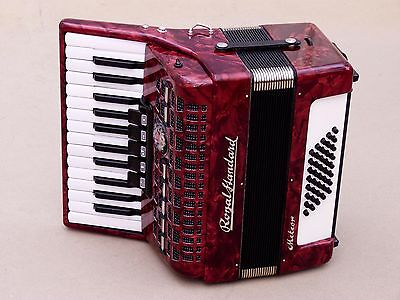 Excellent German Accordion Royal Standard Meteor 40 bass Including Case