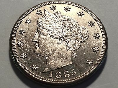 1885 Liberty Nickel *  Superb Gem  *