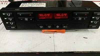 97-01 Bmw 7 Series Ac Heater Climate Control Panel Oem 64118377541