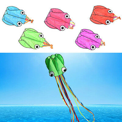 4m Octopus Kite Single Line Software Power Kite With Flying Tools Inflatable JR