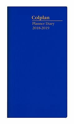 Colplan 2018 2019 2 Year Planner Diary B6/7 Month to View Collins 11W.V59-18