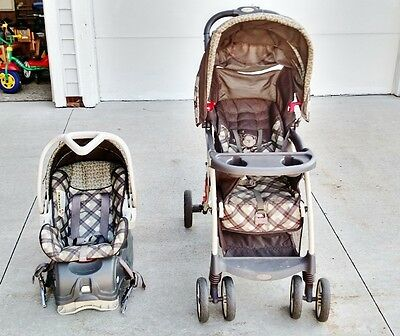 Baby Trend Venture Lx Ts26990 Stroller & Car Seat Travel System