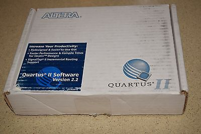 ALTERA DESIGN SOFTWARE FOR PC's - INCLUDES 4 DISCS