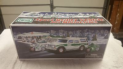 2004 Hess Truck - Sport Utility Vehicle and Motorcycles - New in Box MINT
