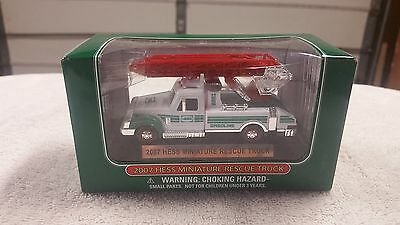 2007 Mini Hess Truck - NEW IN BOX - 10th in Series