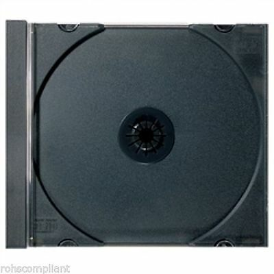 100 - STANDARD Black CD Jewel Case Trays  (Tray Only, NO Outer Cases)
