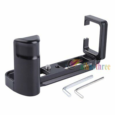 Vertical Quick Release Plate L-Bracket Grip Holder For Fuji Fujifilm XT20 Camera