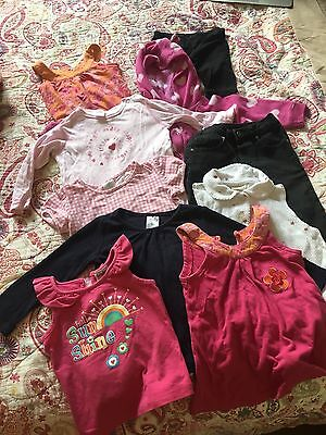 10 Baby Toddler Girl Mixed Lot Clothes Size 1 Hot Options Target Kids Stuff Now