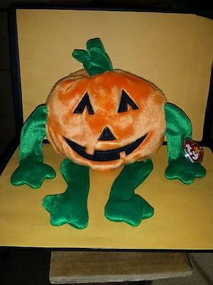 Ty Beanie Buddies Pumkin Pumpkin 1999 Vegetable Tag
