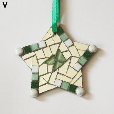 Handmade Mosaic Star Ornament