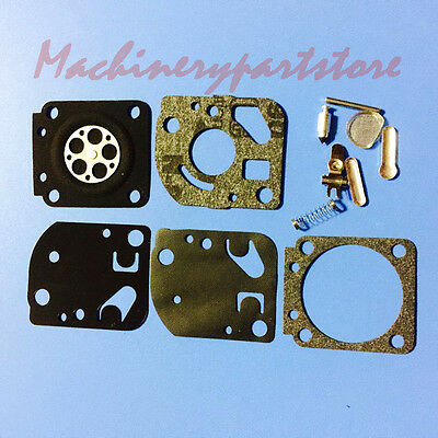 Carburetor Carb Repair Rebuild Diaphragm GASKET KIT Fit ZAMA RB-20 Carburetors