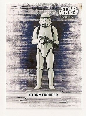 2016 Topps Star Wars Rogue One Sticker Card Stormtrooper