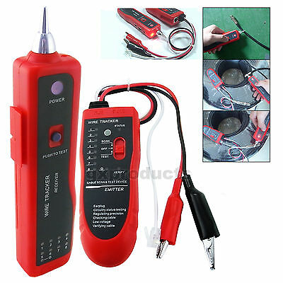 Telephone Cable Wire Network LAN Tracker Finder Connection Open Circuit Tester