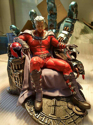 1/4 Scale X-Men Magneto Statue Recast [Custom Made]