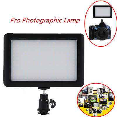 PAD192 LED Video Lighting Photographic Lamp Continuous Light Panel 6000K PR