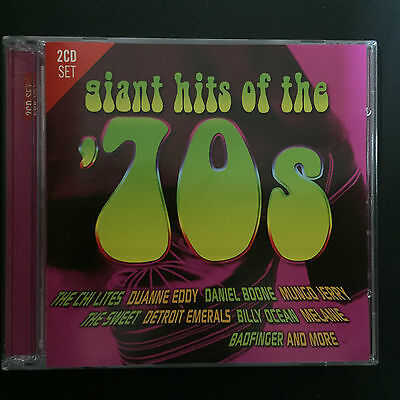 GIANT HITS OF THE 70s Compilation 2CD Set Brand New & Sealed