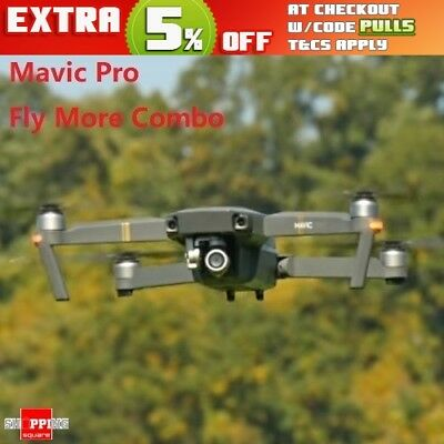 DJI Mavic Pro Fly More Combo RC Quadcopter Foldable Drone with 4K Camera NEW