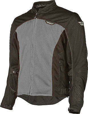 Fly Racing #5948 477-4044~4 Flux Air Mesh Jacket Lg Silver