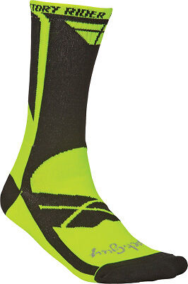 Fly Racing 350-0329S Factory Rider Socks Sm-Md Yellow