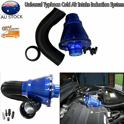 AU Universal Typhoon Cold Air Intake Induction System Kit With Air Box & Filter