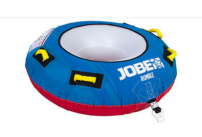 2017 Jobe Rumble Towable Inflatable Tube, 1 Rider, Blue. 40535
