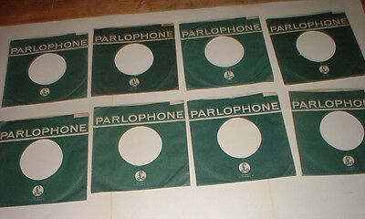 original 1 x PARLOPHONE RECORDS company sleeve scooped top variances The Beatles