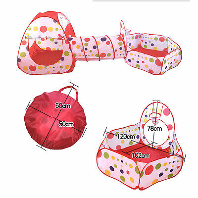 Portable Outdoor Kids Baby Children Game Play Toy Tent Ocean Ball Pit Pool