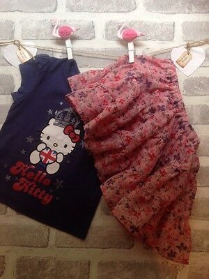 Girls Top & Skirt Age 18-24 Months
