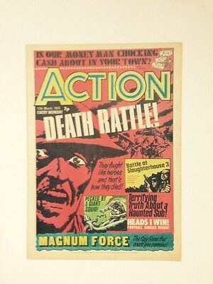 Action - No 4/5? - UK Comic, March 13th, 1976 VHTF NM