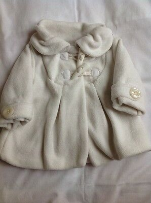 Baby Girls Coat 3-6 months Next Coat white clothes