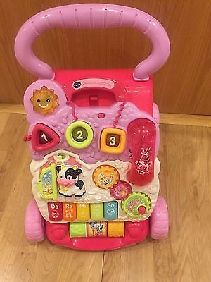 VTECH baby first steps baby walker Pink / excellent condition