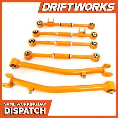 Driftworks Subaru Impreza Rear Adjustable Suspension Arm Kit^GC8 GDB -